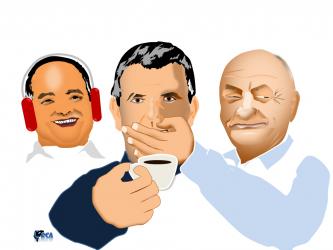 כחלון - לא שותה קפה